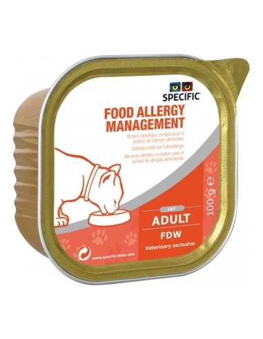 Specific Feline FDW Allergy Management