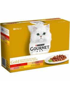 Purina Gourmet Gold Bocaditos en Salsa Multipack