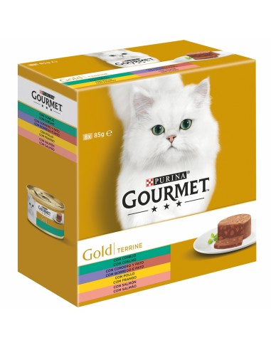 Purina Gourmet Gold Terrine Multipack