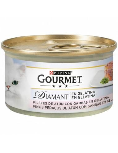 Purina Gourmet Diamant Finas Láminas de atún con gambas