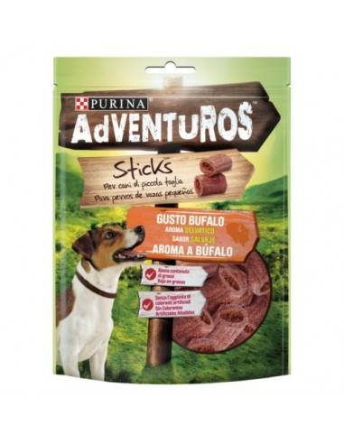 Snacks Purina ADVENTUROS Nuggets con aroma a  Bufalo