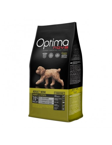 Optimanova Adult Mini Conejo Y Patata Grain Free