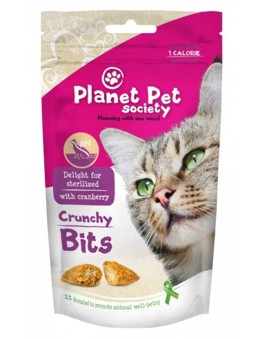 Snacks Crunchy Bits Planet Pet Society Esterilizados
