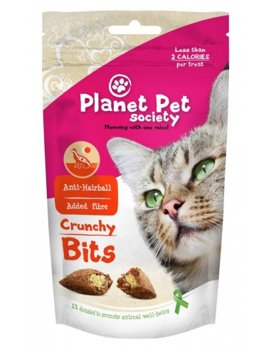Snacks Crunchy Bits Planet Pet Society Anti-Hairball