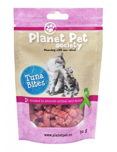 Bites de Atun Planet Pet Society para Gatos