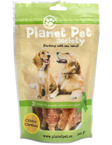 Snack Chewbone de Pollo Planet Pet Society para Perros