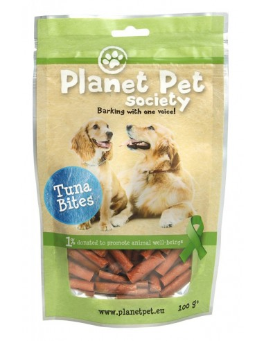 Snack Bites de Atun Planet Pet Society para Perros