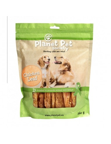 Snack Filete Grande de Pollo Planet Pet Society para Perros