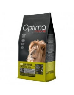 Optimanova Gato Adult Hairball