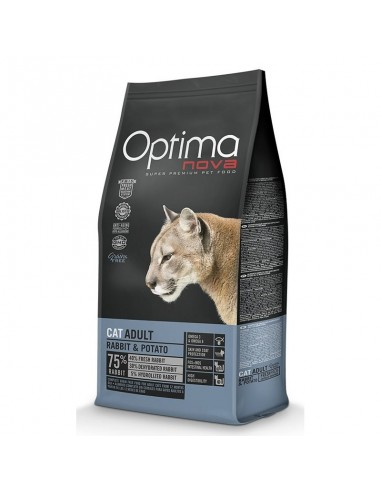 Optimanova Grain Free Gato Adult Conejo Y Patata