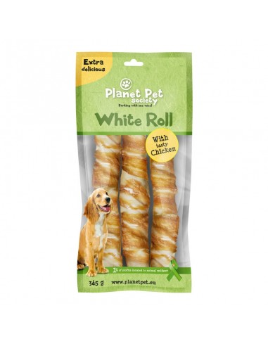 Snack Rollito de Pollo Planet Pet Society para Perros