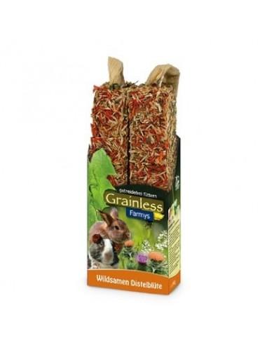 JR Grainless Farmys de sabores para roedores
