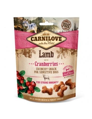 Carnilove Crunchy Snack Cordero con arándanos