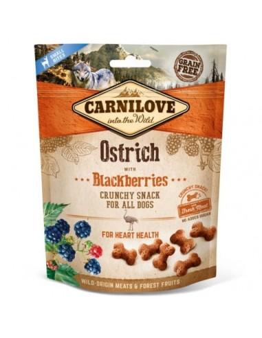Carnilove Crunchy Snack Avestruz con moras