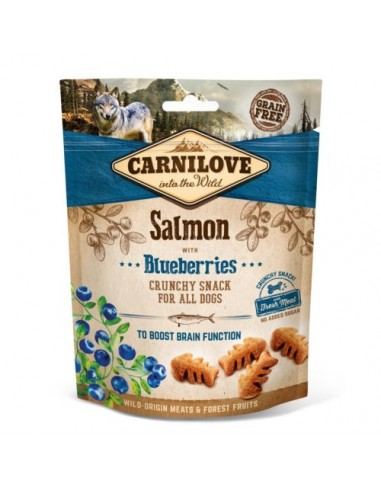 Carnilove Crunchy Snack Salmón y Arándanos