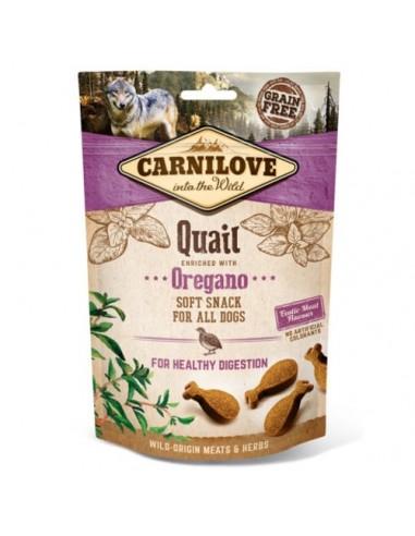 Carnilove Soft Snack Codorniz con Orégano
