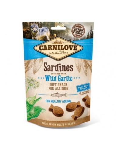 Carnilove Soft Snack Sardinas con Ajo