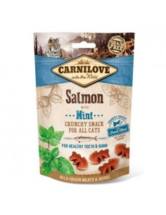 Carnilove Crunchy Cat Snack Salmón y Menta