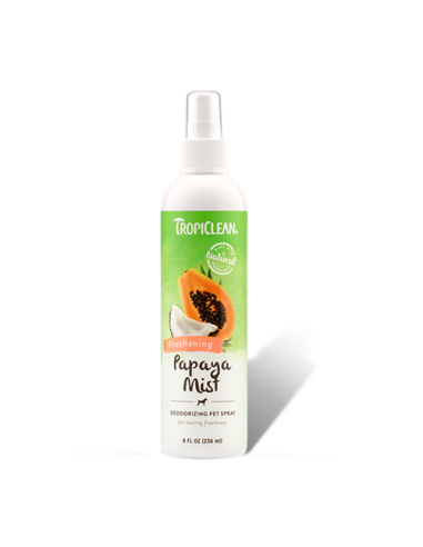 Tropiclean Spray Desodorante Papaya Mist