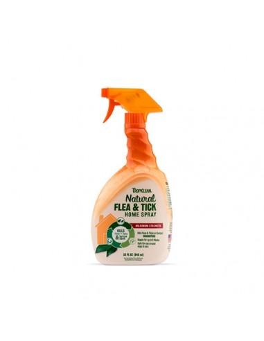 Tropiclean Flea & Tick Spray Antiparasitario para el hogar
