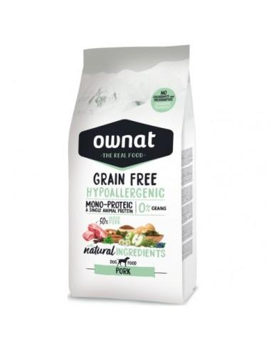 Pienso Ownat Grain Free Hypoallergenic Cerdo
