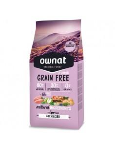 Ownat Prime Grain Free Cat Sterilized