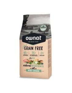 Pienso Ownat Just Grain Free Adult Pollo