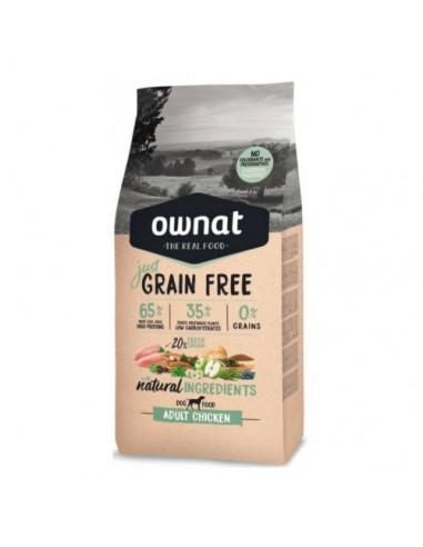 Pienso Ownat Just Grain Free Adult Pollo