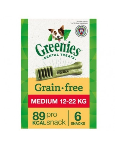 Greenies Grain Free Medium razas medianas