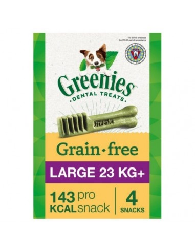 Greenies Grain Free Large razas grandes