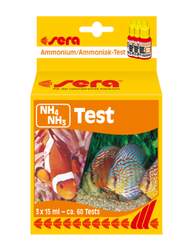 Sera Test de Amonio/Amoniaco (NH4/NH3)