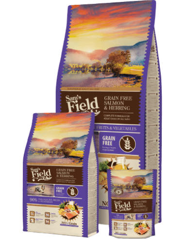 Sam's Field Grain Free Adult Salmón y Arenque