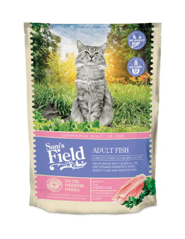 Sam's Field Cat Adult Pescado