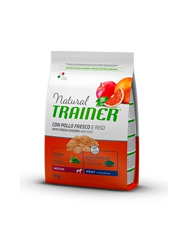 Natural Trainer Adult Medium Pollo