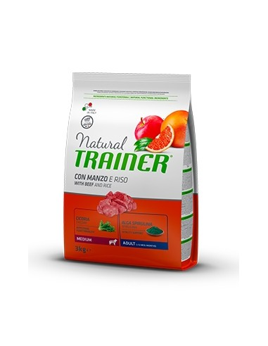 Natural Trainer Adult Medium Ternera