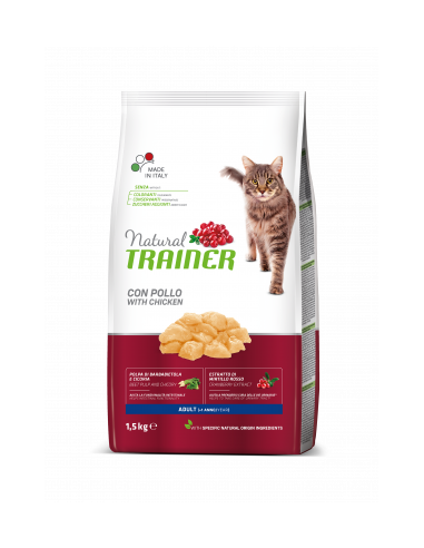 Natural Trainer Cat Adult Pollo