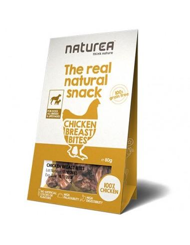 Naturea Snack para perro de pechuga de pollo