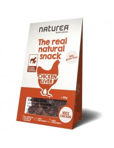 Naturea Snack para perro de hígado de pollo