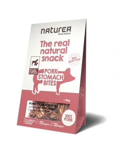 Naturea Snack para perro de estómago de cerdo