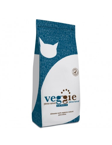 Pienso natural Veggie Animals para gatos