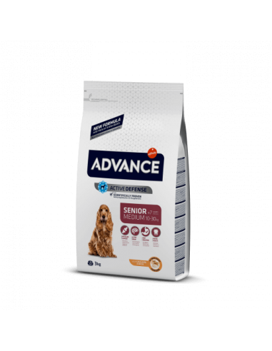 Advance Adult Medium Senior Pollo y Arroz