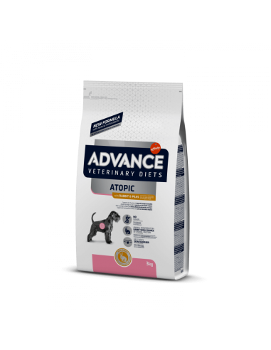 Advance Atopic Conejo y Guisantes Medium / Maxi  Veterinary Diets