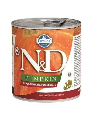 Farmina N&D Grain Free Prime Pumpkin Dog Pollo Lata
