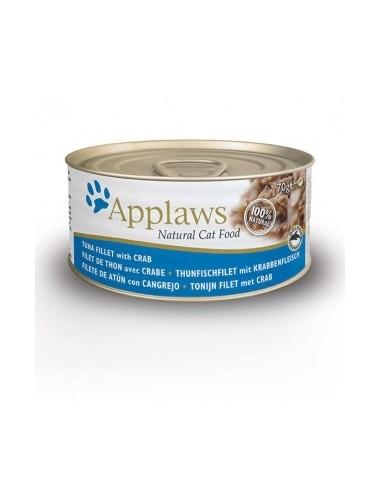 Applaws Cat Atun y Cangrejo Lata
