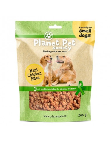 Planet Pet Mini Bites Pollo Perros