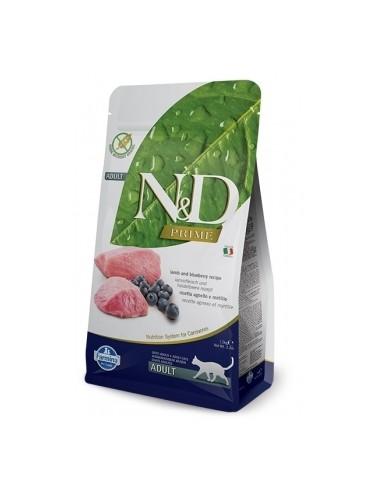 Farmina N&D Cordero y Arándano Adult Cat Grain Free Prime