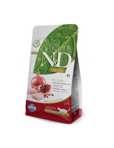 Farmina N&D Pollo y Granada Adult Neutered Cat Grain Free Prime