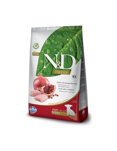 Farmina N&D Pollo y Granada Puppy Mini  Grain Free Prime