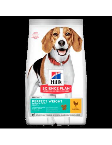 Hill's Science PlanAdulto Perfect Weight Razas Medianas