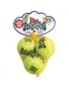 Set de pelotas Kong Air Squeaker Tennis Ball